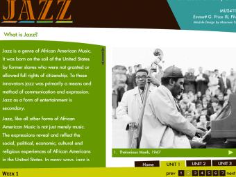Online Jazz Course