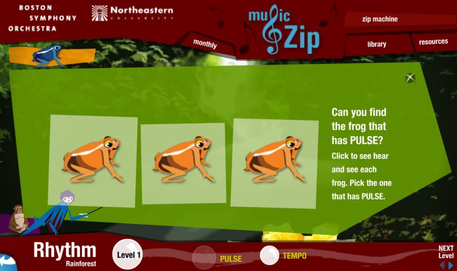 Kid's Music Zip